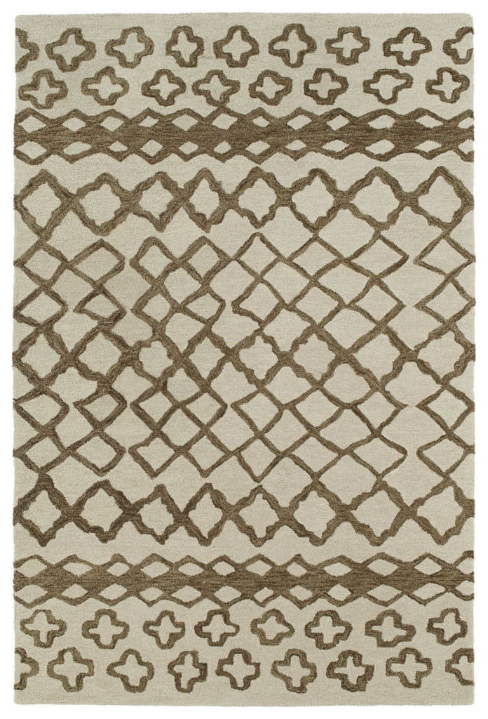 Kaleen Casablanca CAS01 Brown Rug