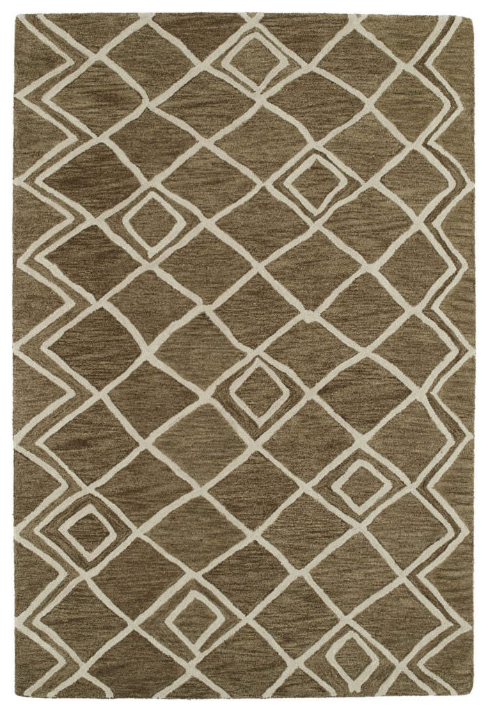 Kaleen Casablanca CAS04 Brown Rug