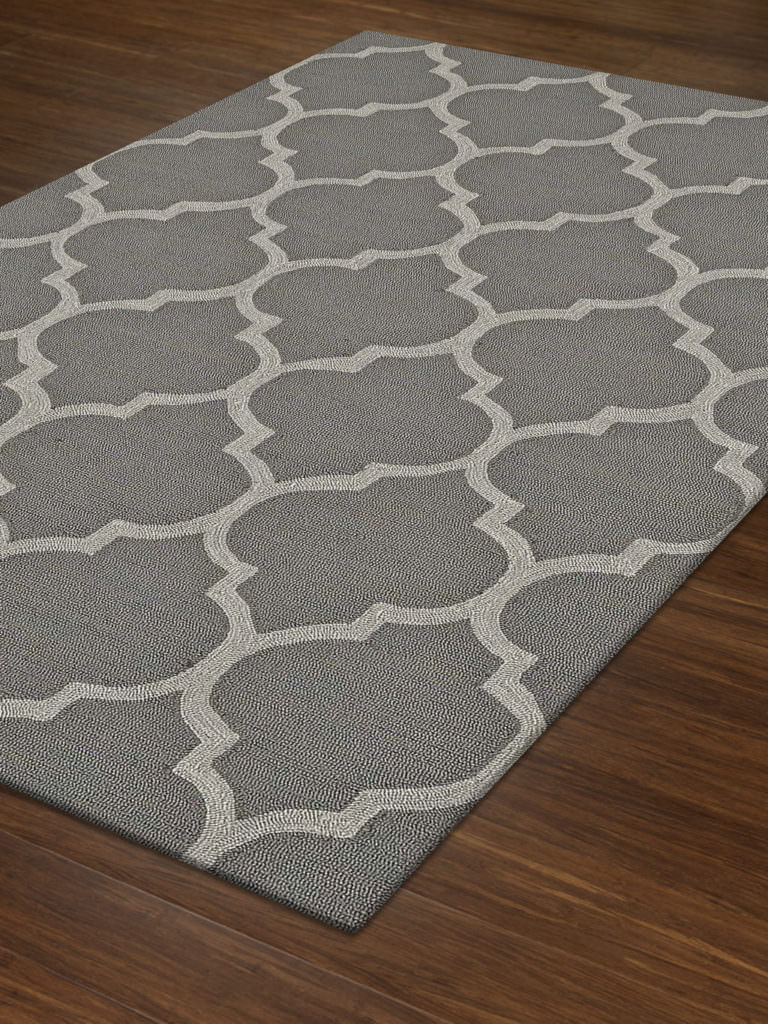 Dalyn Cabana CN12 Pewter Rug Floor View