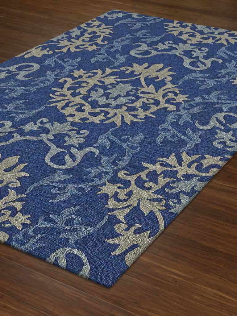 Dalyn Cabana CN2 Navy Rug Floor View