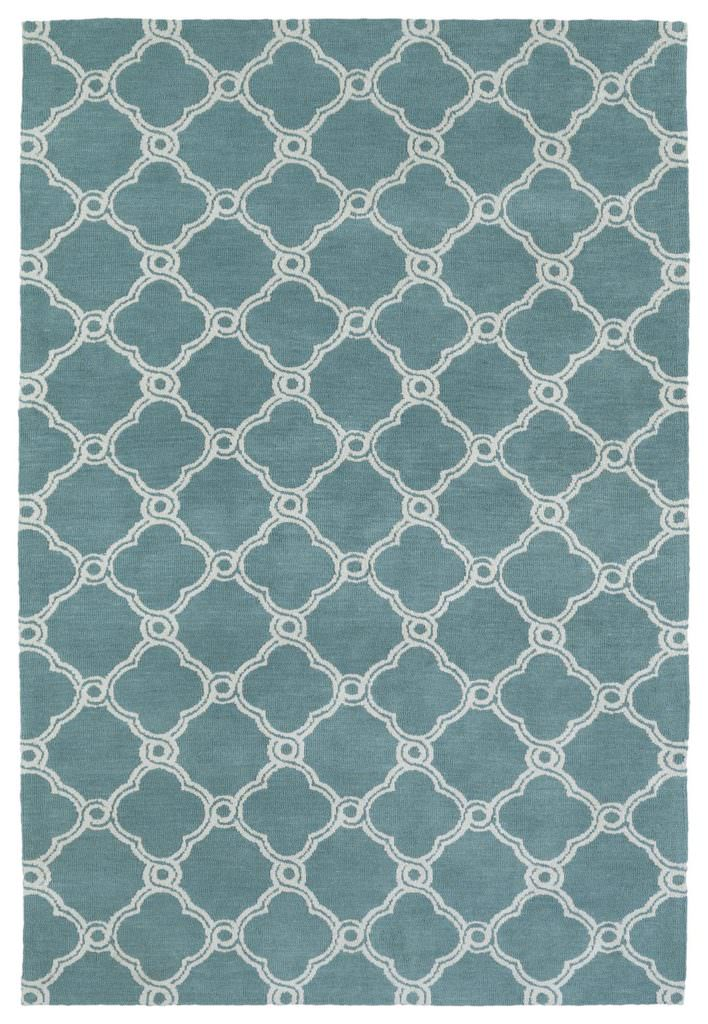 Kaleen Cozy Toes CTC10-78 Turquoise Rug