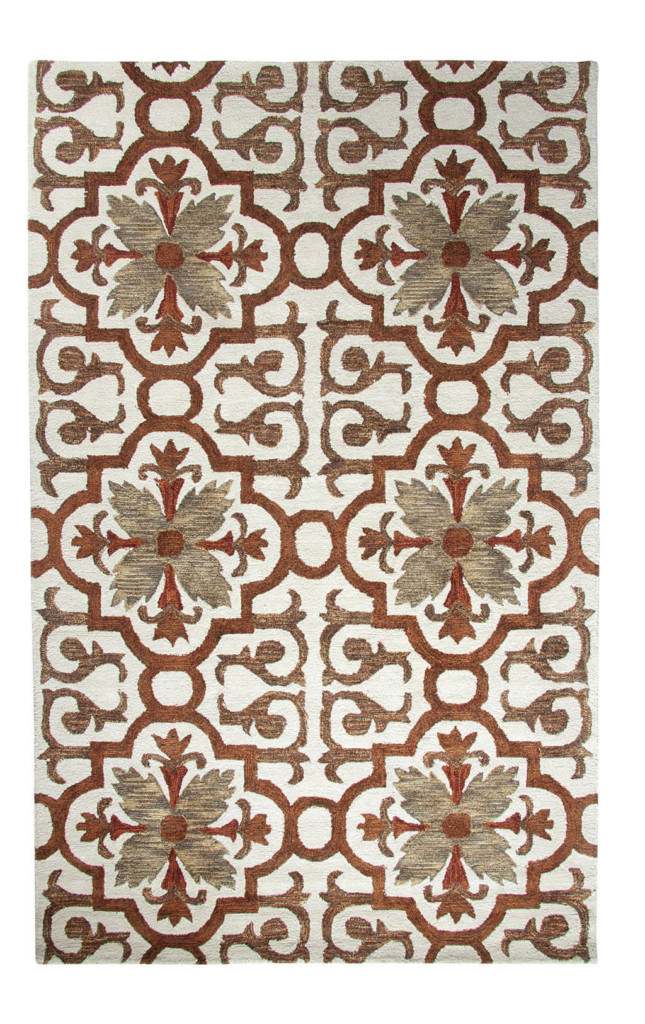 Dynamic Casual 8' x 11' 92336-299 Rust / Multi Rug