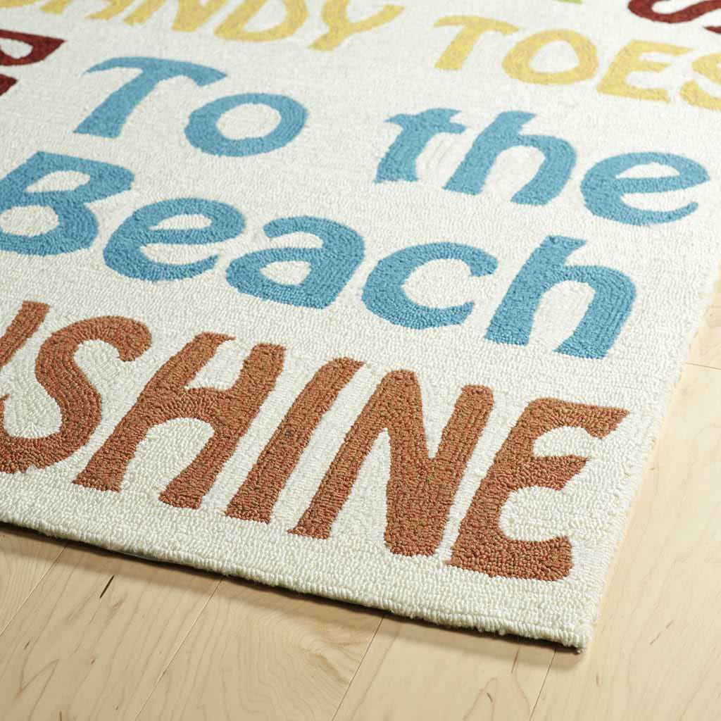Kaleen Escape ESC12-01 Ivory Rug Close-Up