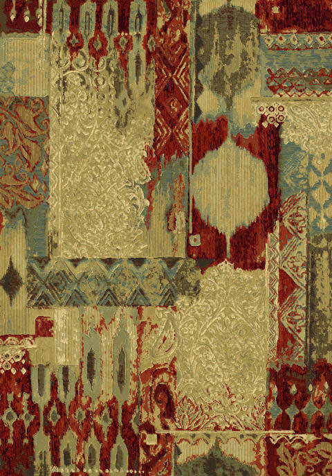 "Dynamic Eclipse 7'-10"" x 10'-10"" 68137-8080 Multi Rug"