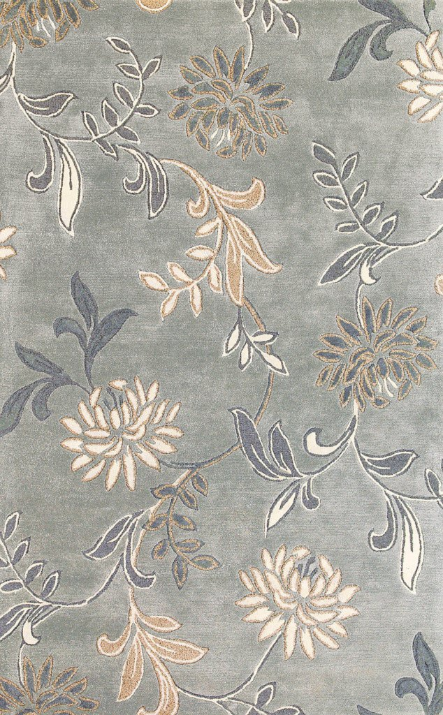 Florence 4557 Silver Floral