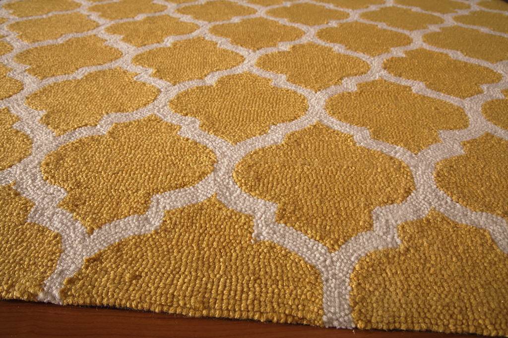 "Momeni Geo 7'-6"" x 9'-6"" GEO-4 Yellow Rug View 2"