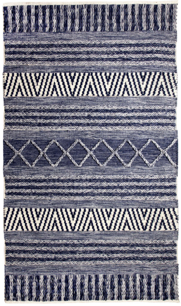 Dynamic Heirloom 8' x 11' 91003-108 Blue / Ivory Rug