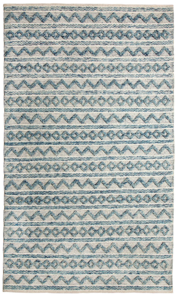 Dynamic Heirloom 8' x 11' 91004-144 Teal / Ivory Rug