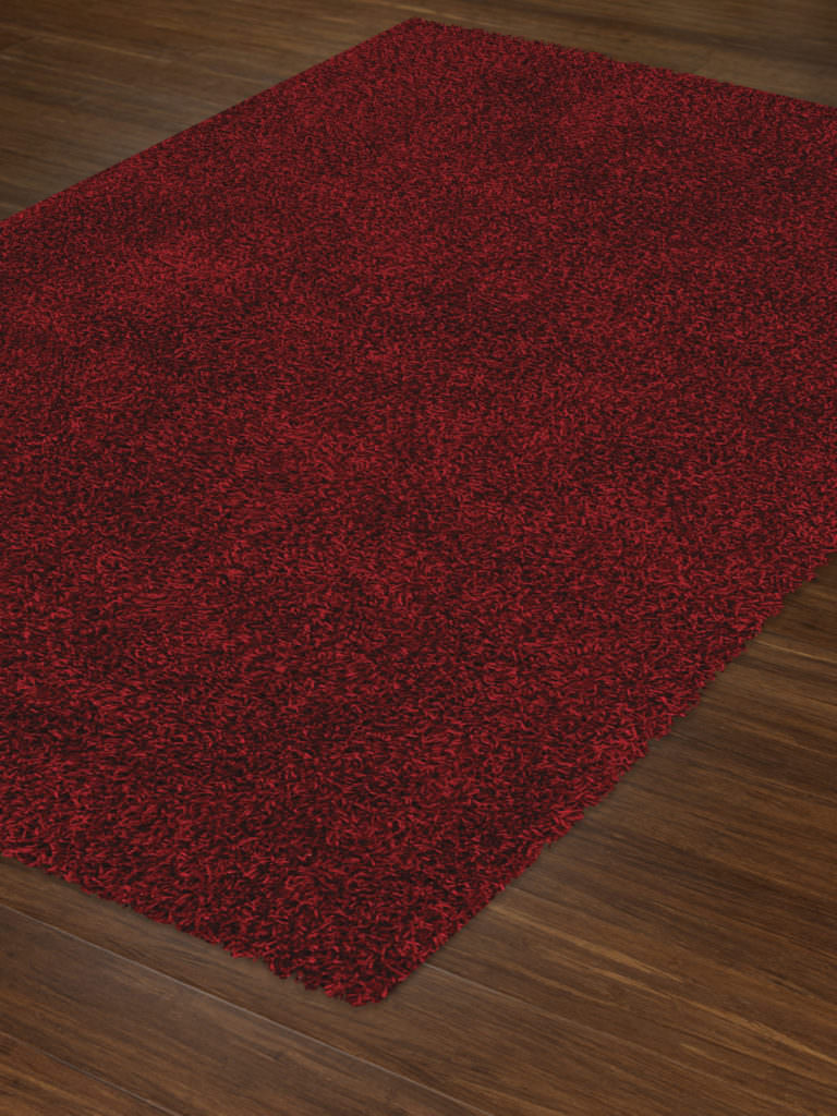 Dalyn Illusions IL69 Red Rug Floor View
