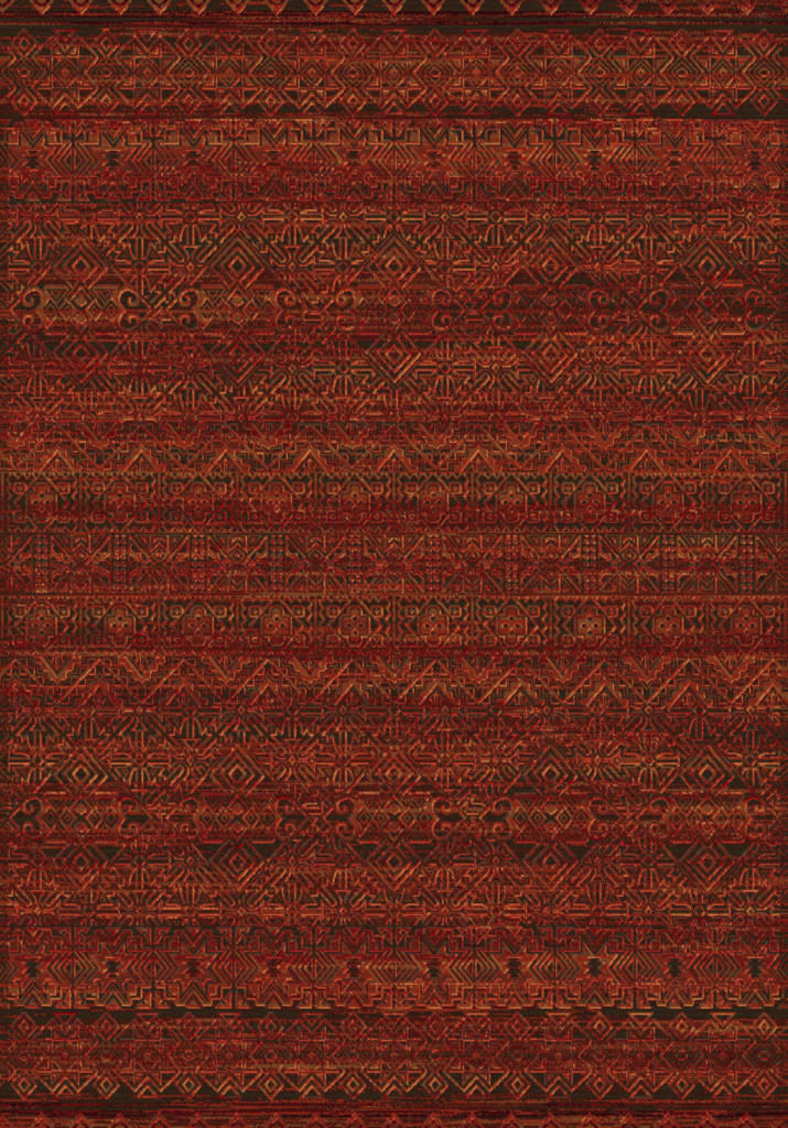 "Dynamic Imperial 7'-10"" x 10'-10"" 68331-1010 Red Rug"