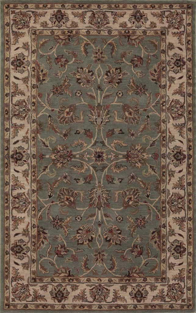Dalyn Jewel JW31 Spa Blue / Ivory Rug
