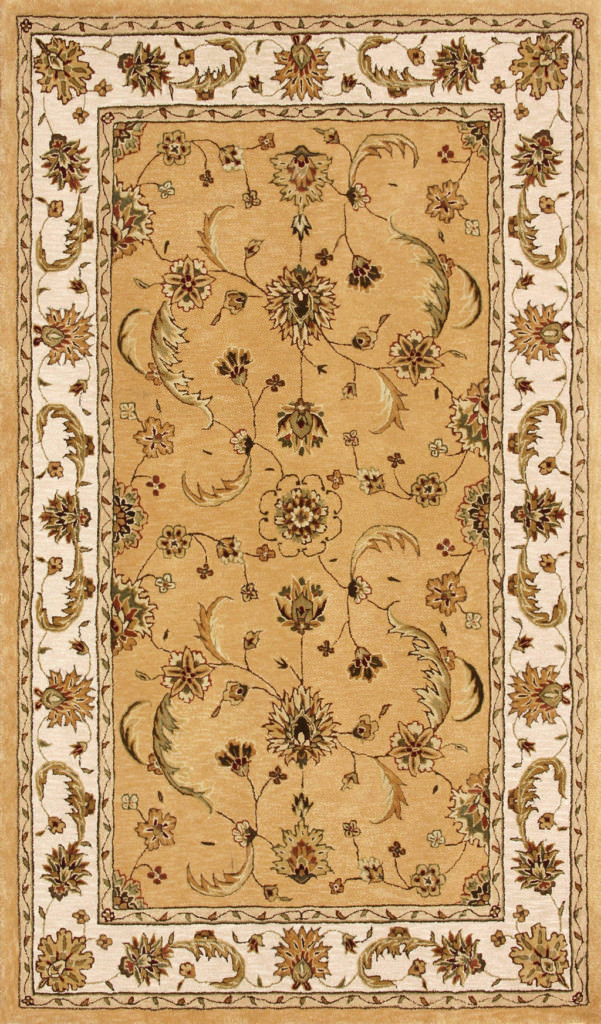 "Dynamic Jewel 9'-6"" x 13'-6"" 70113-770 Gold / Beige Rug"