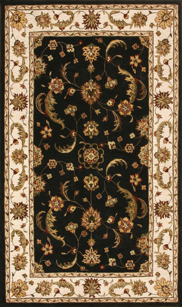 "Dynamic Jewel 9'-6"" x 13'-6"" 70113-808 Charcoal Rug"