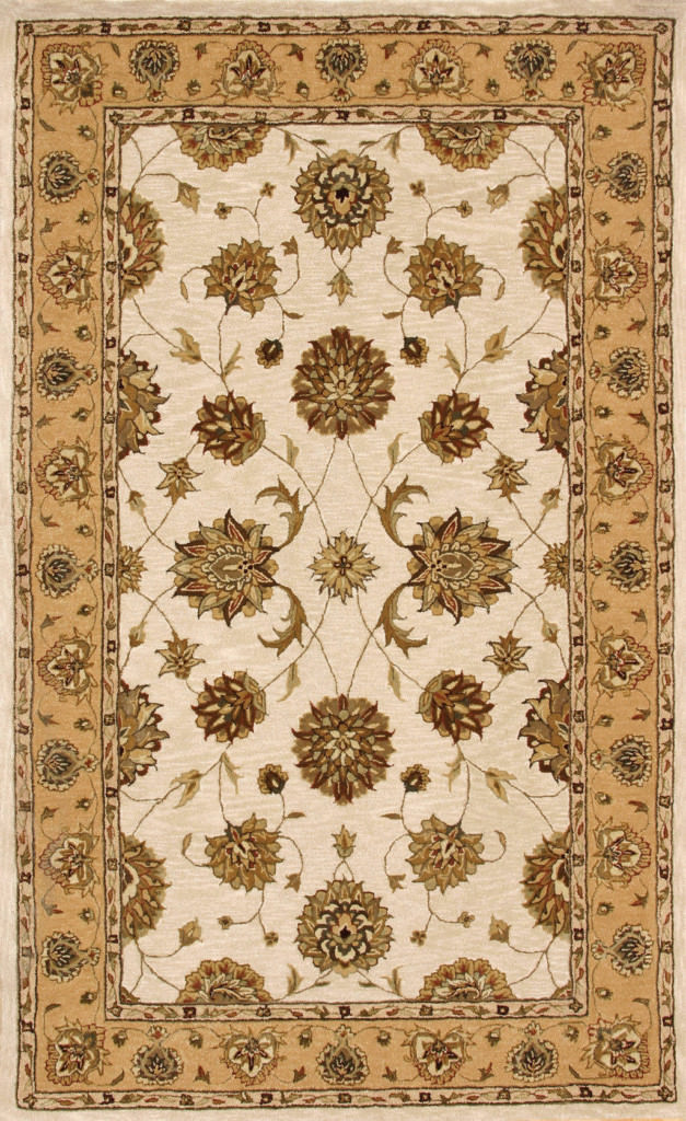 "Dynamic Jewel 9'-6"" x 13'-6"" 70230-107 Ivory Rug"