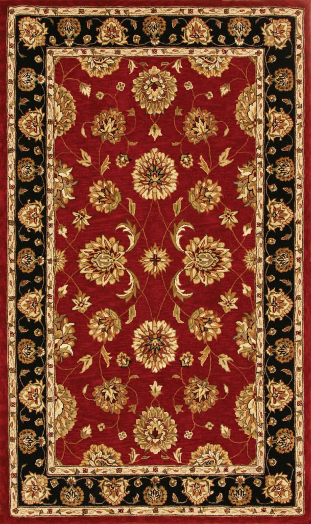 "Dynamic Jewel 9'-6"" x 13'-6"" 70230-339 Red Rug"