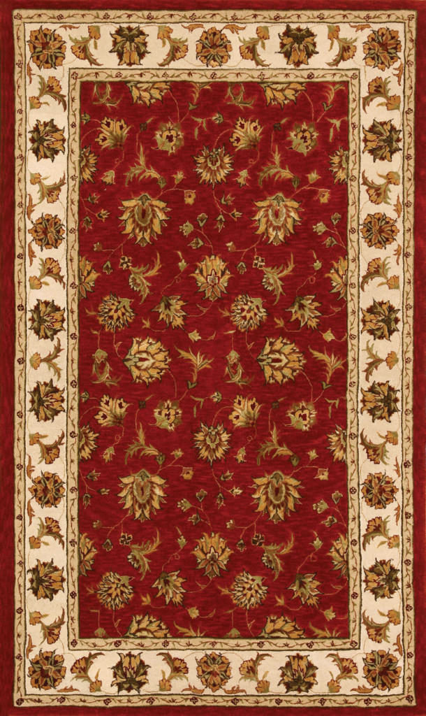 "Dynamic Jewel 9'-6"" x 13'-6"" 70231-330 Red Rug"