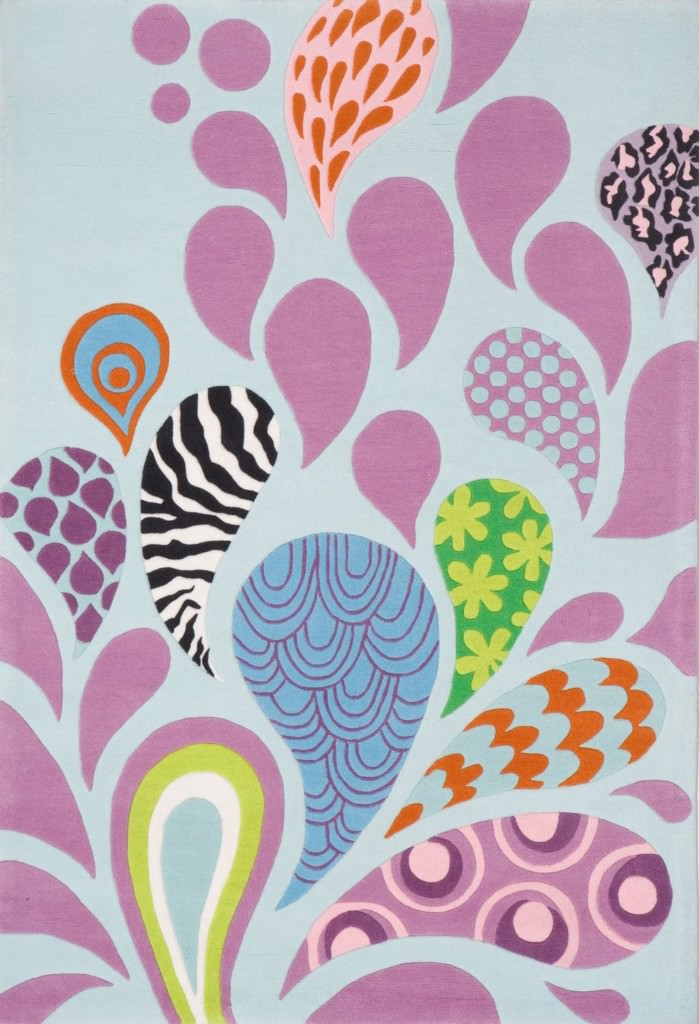 Momeni Lil Mo Hipster 8' x 10' LMT-6 Funky Rug