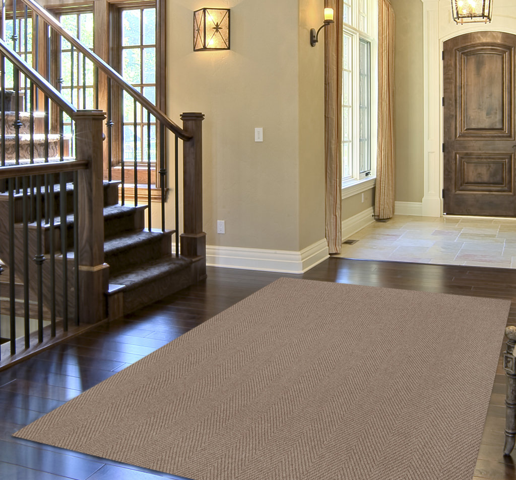 Dalyn Monaco Sisal MC200 Putty Rug Room View