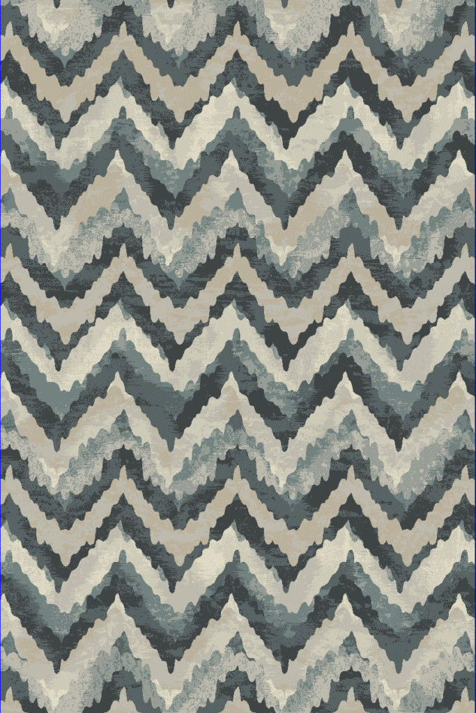 "Dynamic Melody 9'-2"" x 12'-10"" 985018-119 Blue Rug"