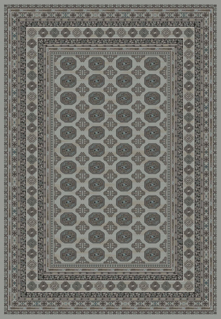 "Dynamic Regal 7'-10"" x 11'-2"" 88404-5959 Grey Rug"