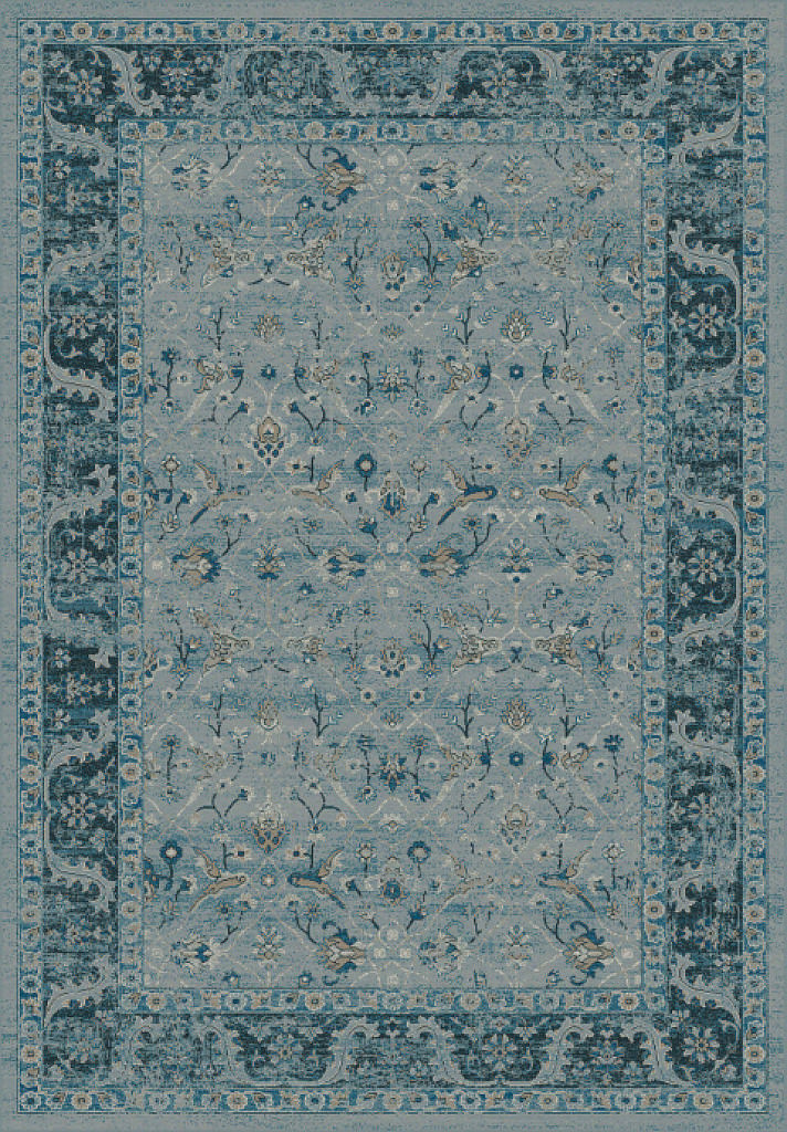 "Dynamic Regal 7'-10"" x 11'-2"" 88911-4989 Blue Rug"