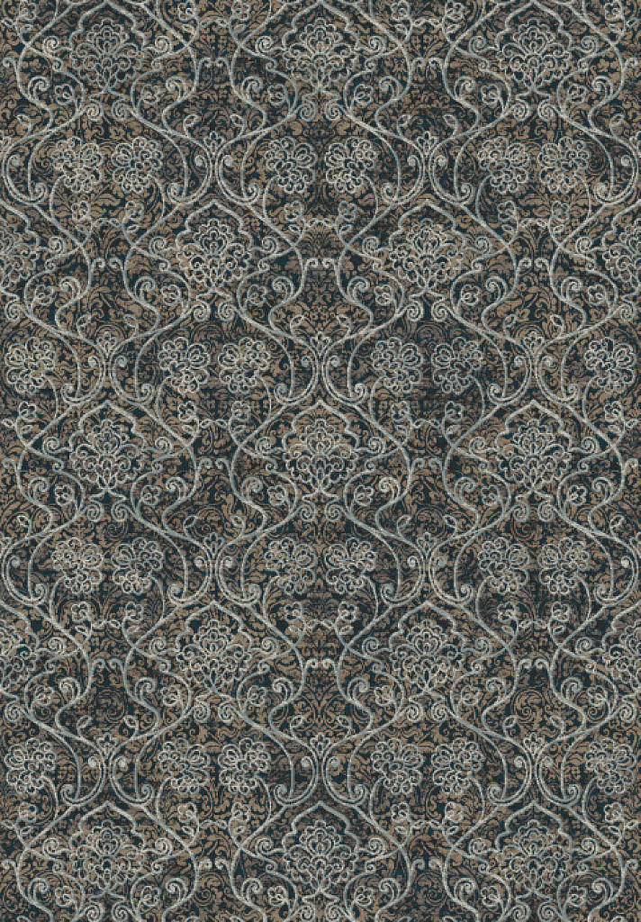 "Dynamic Regal 7'-10"" x 11'-2"" 89656-3979 Taupe / Silver Rug"