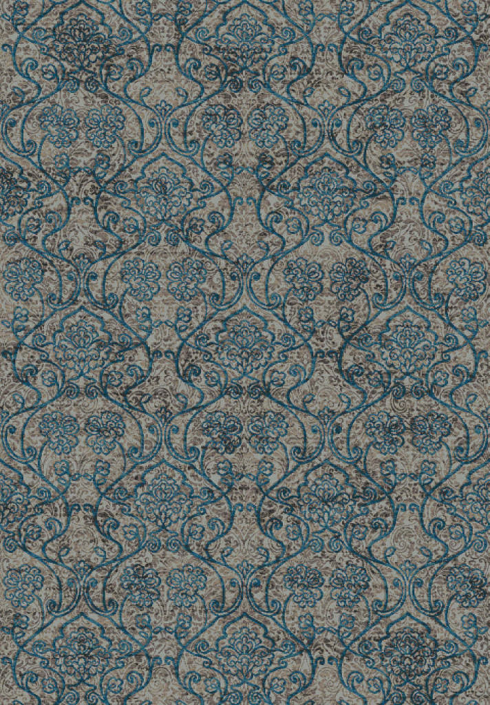 "Dynamic Regal 7'-10"" x 11'-2"" 89656-5989 Blue / Taupe Rug"