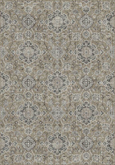 "Dynamic Regal 7'-10"" x 11'-2"" 89665-2959 Taupe / Grey Rug"
