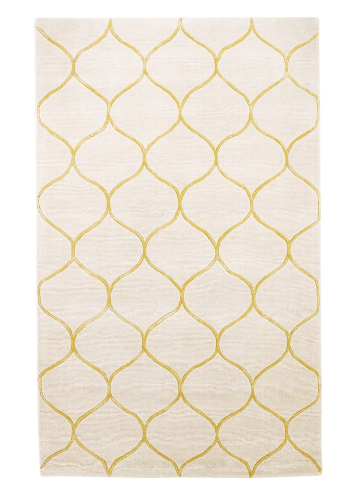 "KAS Transitions 3327 Ivory Harmony 30"" x 50"" Rug"