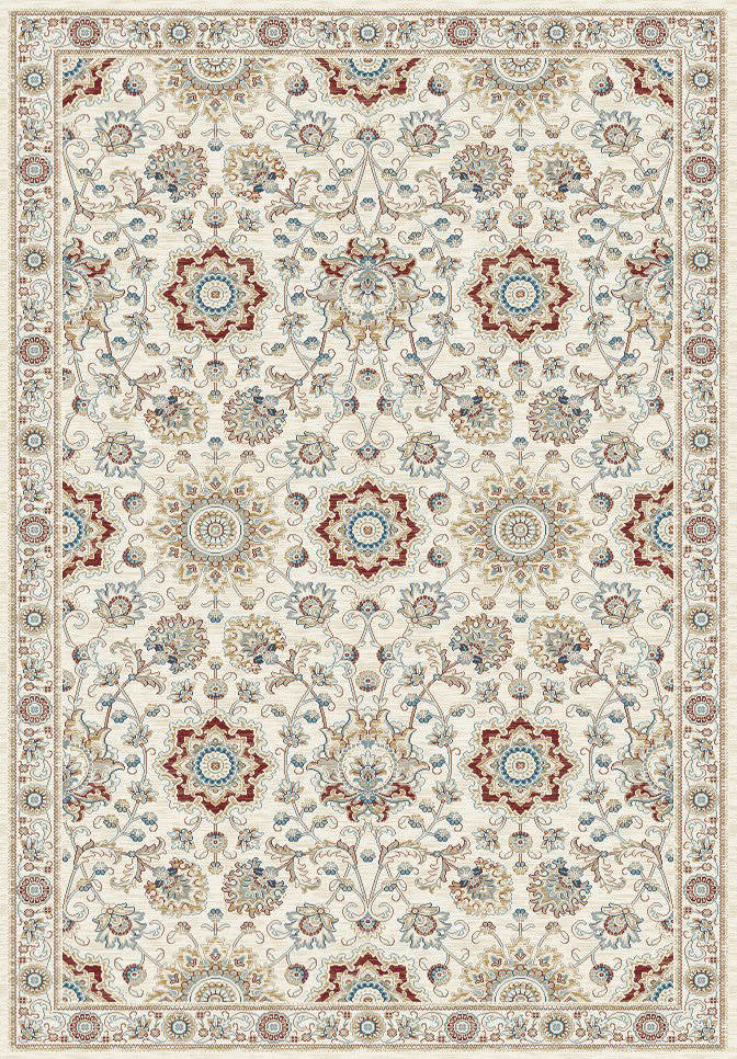 "Dynamic Venice 9'-2"" x 12'-10"" 1678-106 Cream / Rust Rug"