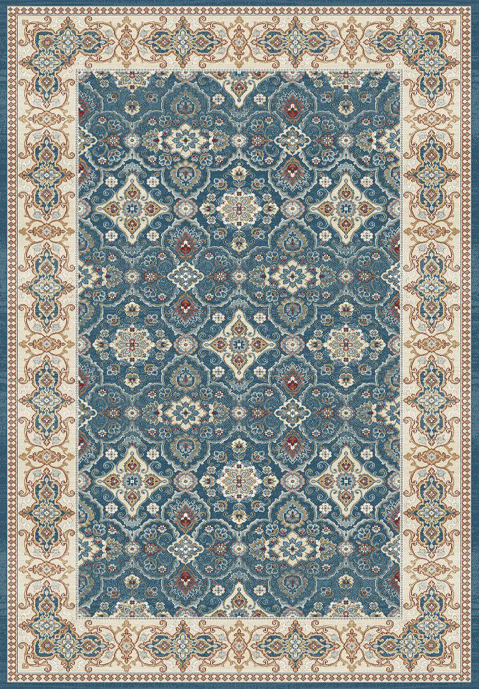 "Dynamic Venice 9'-2"" x 12'-10"" 1998-551 Dark Blue Rug"