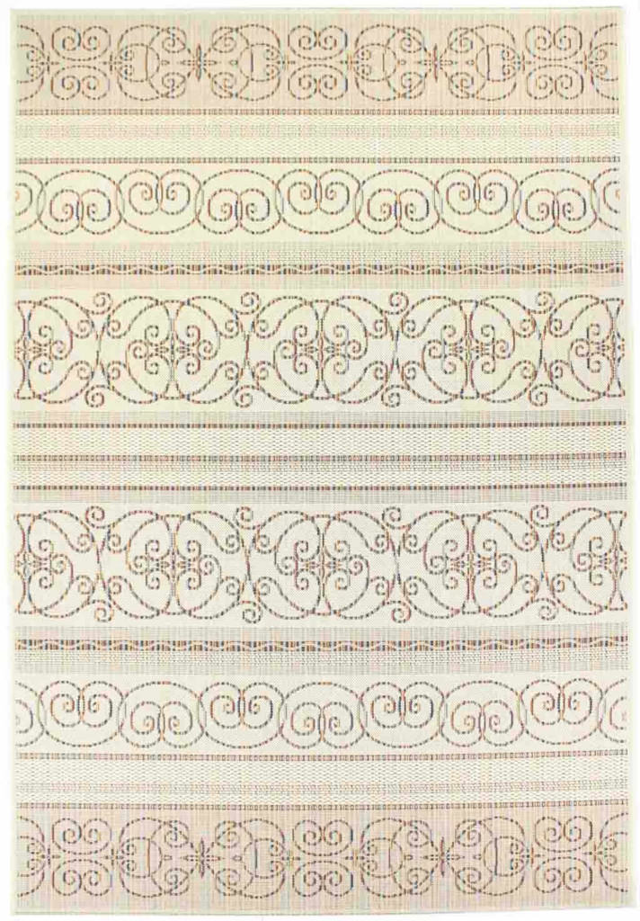 "Dynamic Veranda 7'-10"" x 10'-10"" 6433-1401 Cream Rug"