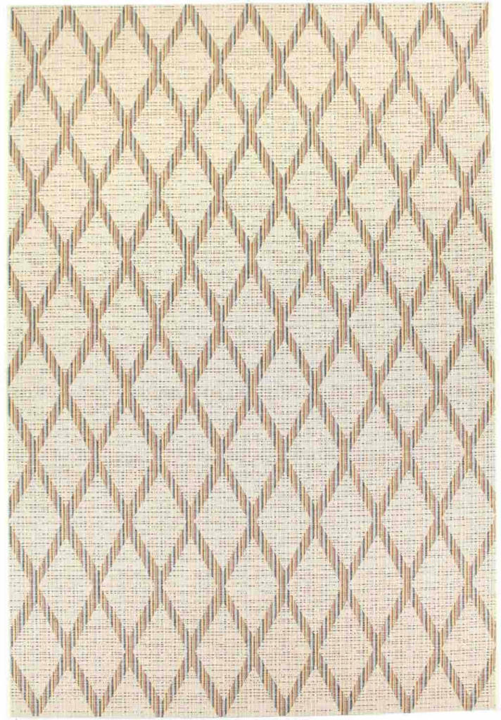 "Dynamic Veranda 7'-10"" x 10'-10"" 6484-1401 Cream Rug"