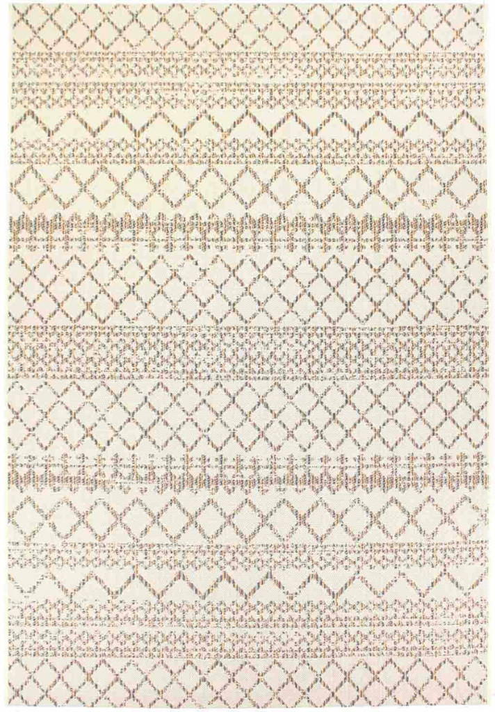 "Dynamic Veranda 7'-10"" x 10'-10"" 6490-1401 Cream Rug"