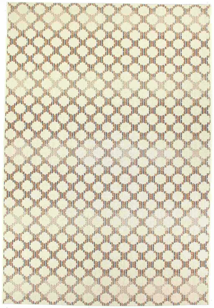"Dynamic Veranda 7'-10"" x 10'-10"" 6495-1401 Cream Rug"
