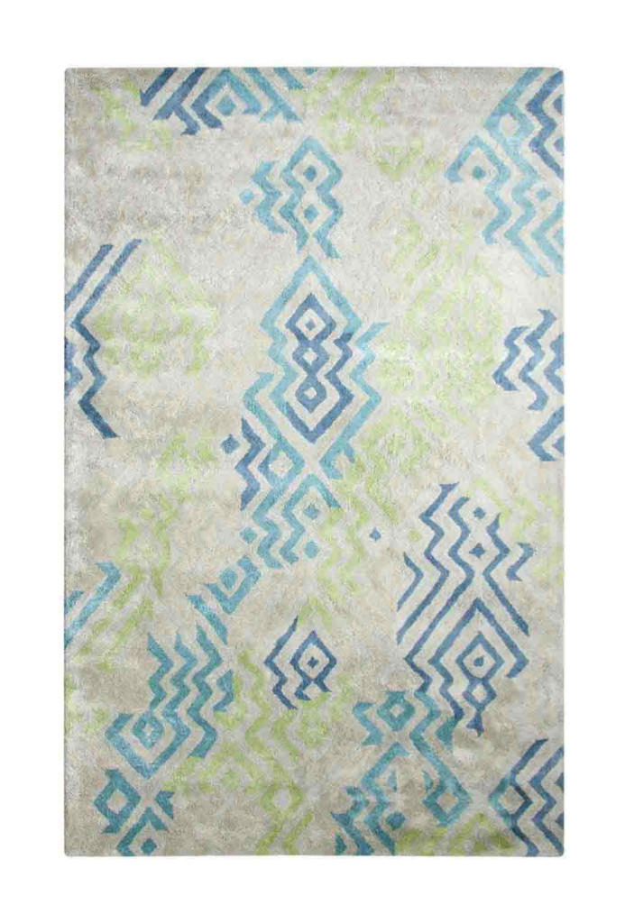Dynamic Vogue 8' x 11' 881000-461 Green / Blue Rug