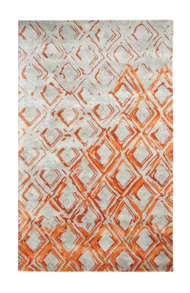 Dynamic Vogue 8' x 11' 881003-133 Grey / Rust Rug