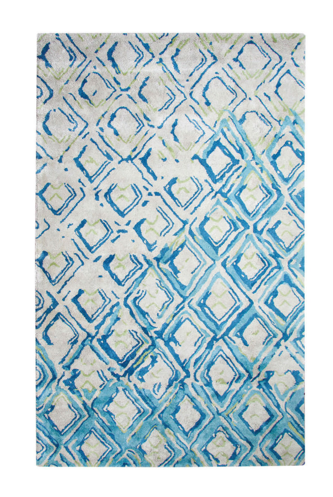 Dynamic Vogue 8' x 11' 881003-155 Grey / Turquoise Rug
