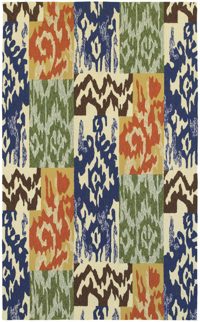 Tommy Bahama Atrium ATU 51100 Blue / Orange Rug