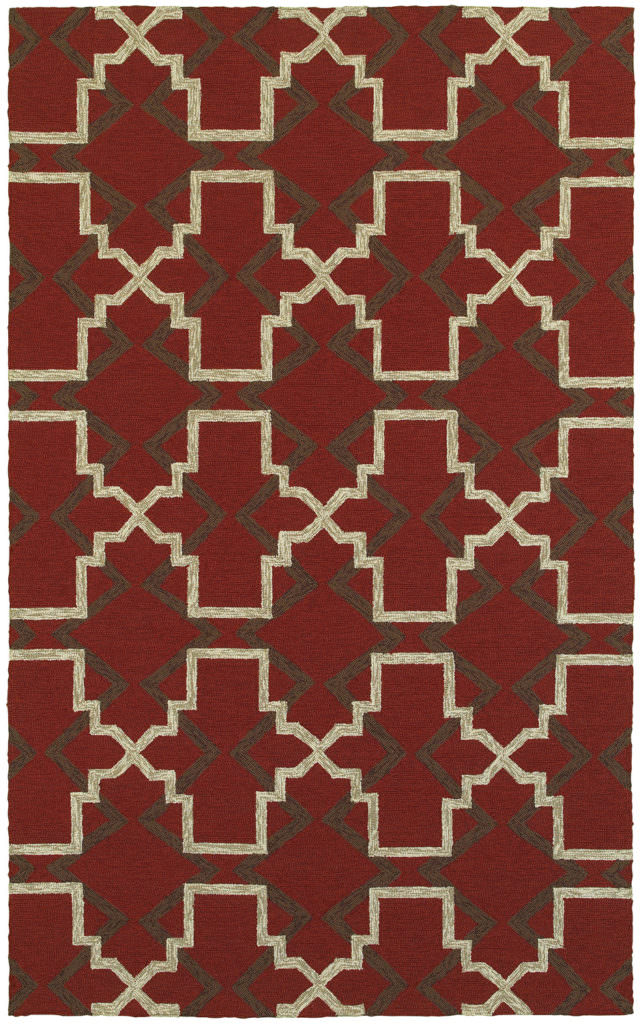 Tommy Bahama Atrium ATU 51103 Red / Brown Rug