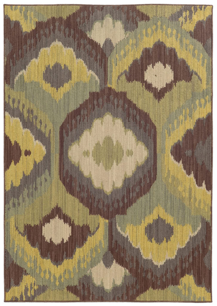 Tommy Bahama Cabana CBN 929N2 Brown / Blue Rug