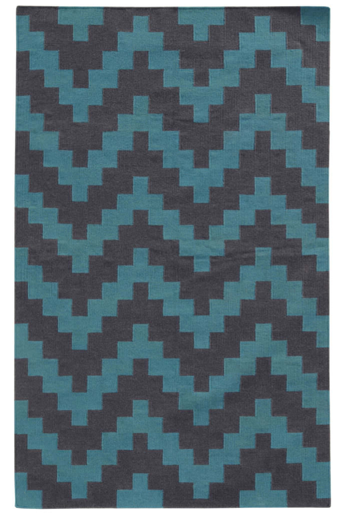 MAT 4714D Blue / Grey Rug