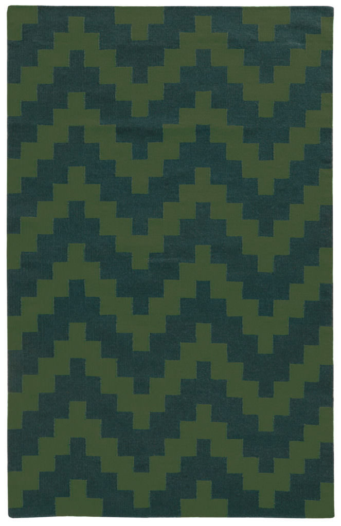 MAT 4714L Green / Blue Rug