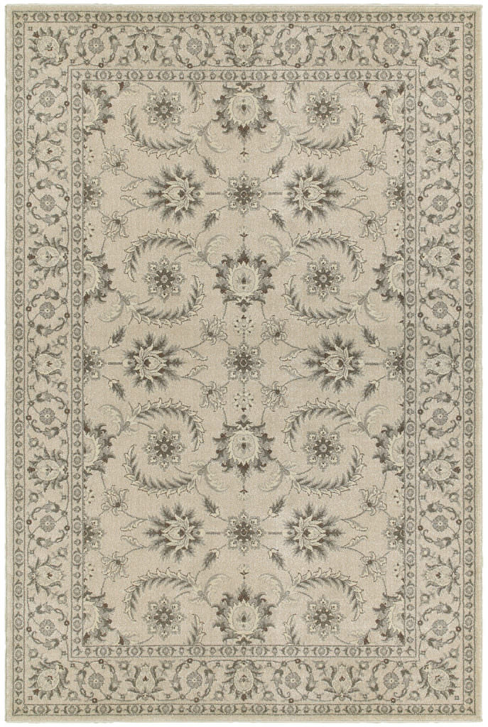 Oriental Weavers Richmond RIC 114J3 Ivory / Grey Rug