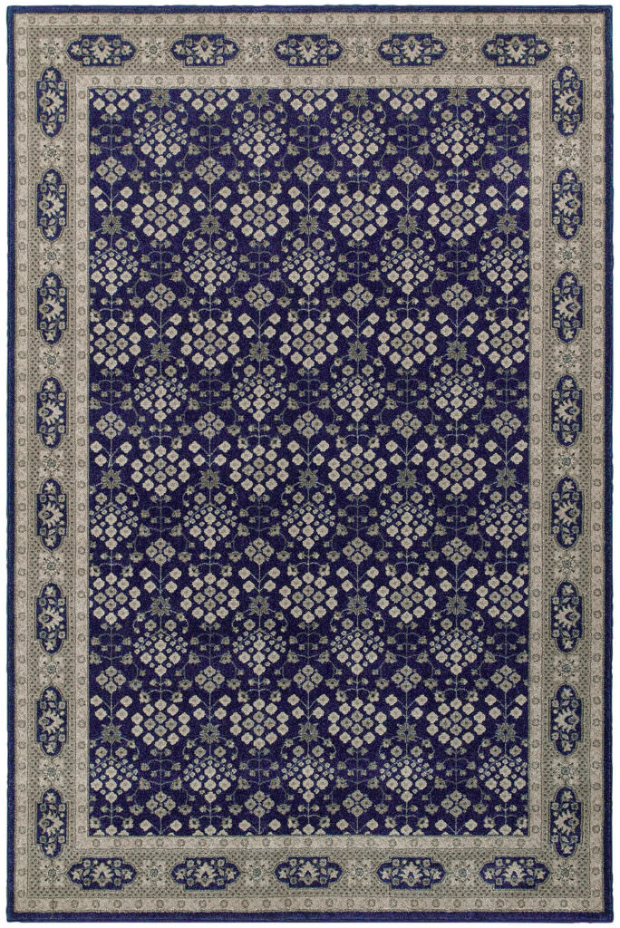 Oriental Weavers Richmond RIC 119B3 Navy / Grey Rug
