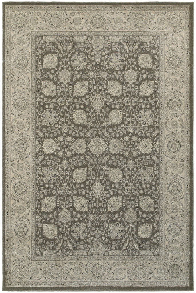 Oriental Weavers Richmond RIC 1330U Brown / Ivory Rug