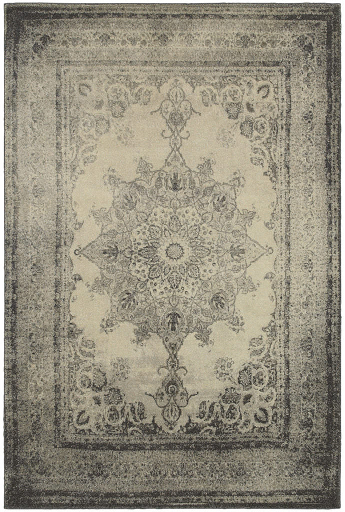 Oriental Weavers Richmond RIC 1333Y Ivory / Grey Rug
