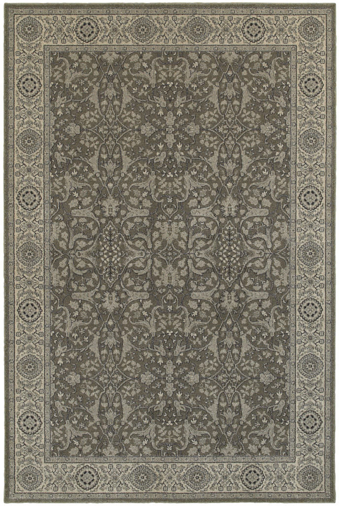 Oriental Weavers Richmond RIC 001E3 Grey / Ivory Rug