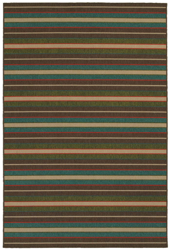 Tommy Bahama Seaside SES 1307D Brown / Multi Rug