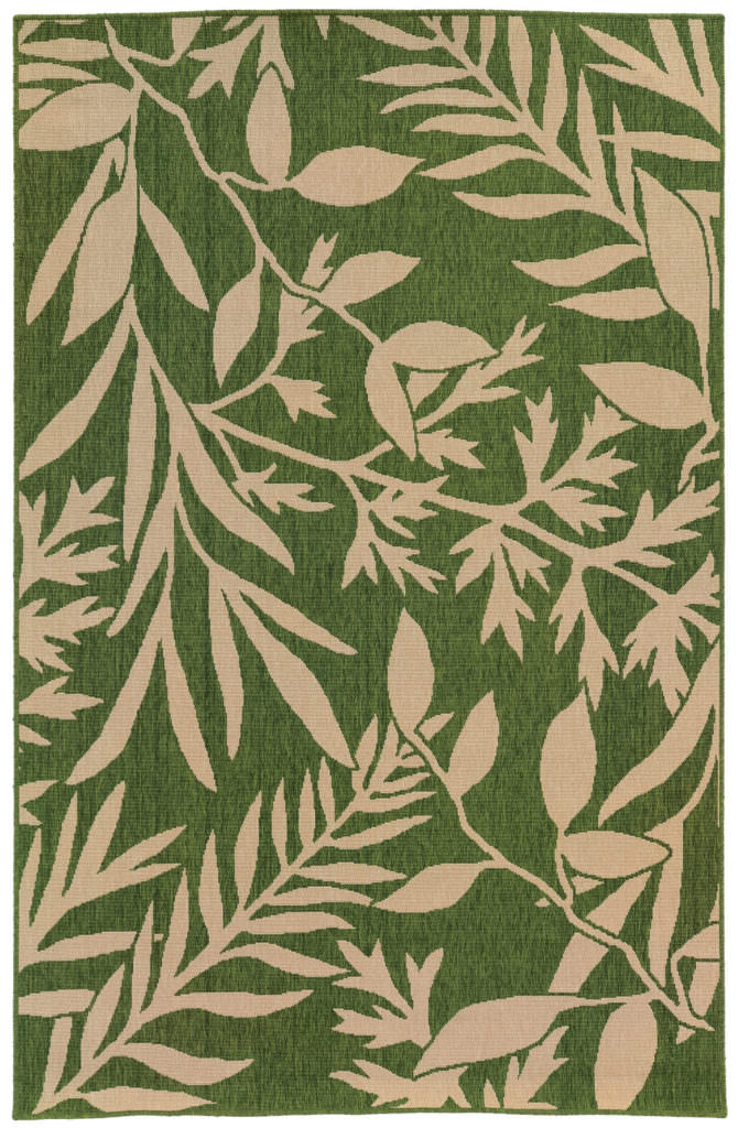 Tommy Bahama Seaside SES 1631G Green / Beige Rug